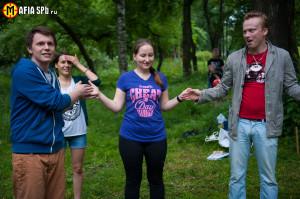 """Квест на природе от Клуба """"Мафия СПб"""""""