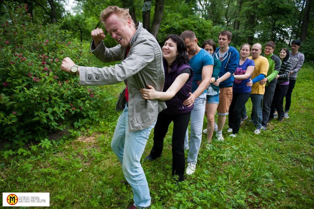 Квест-Тимбилдинг на природе в СПб